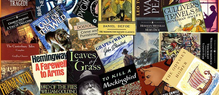 Collage of Middle School Book Covers