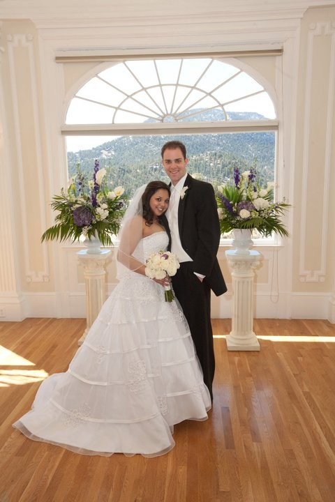 Married at the Stanley Hotel: 4-2-11
