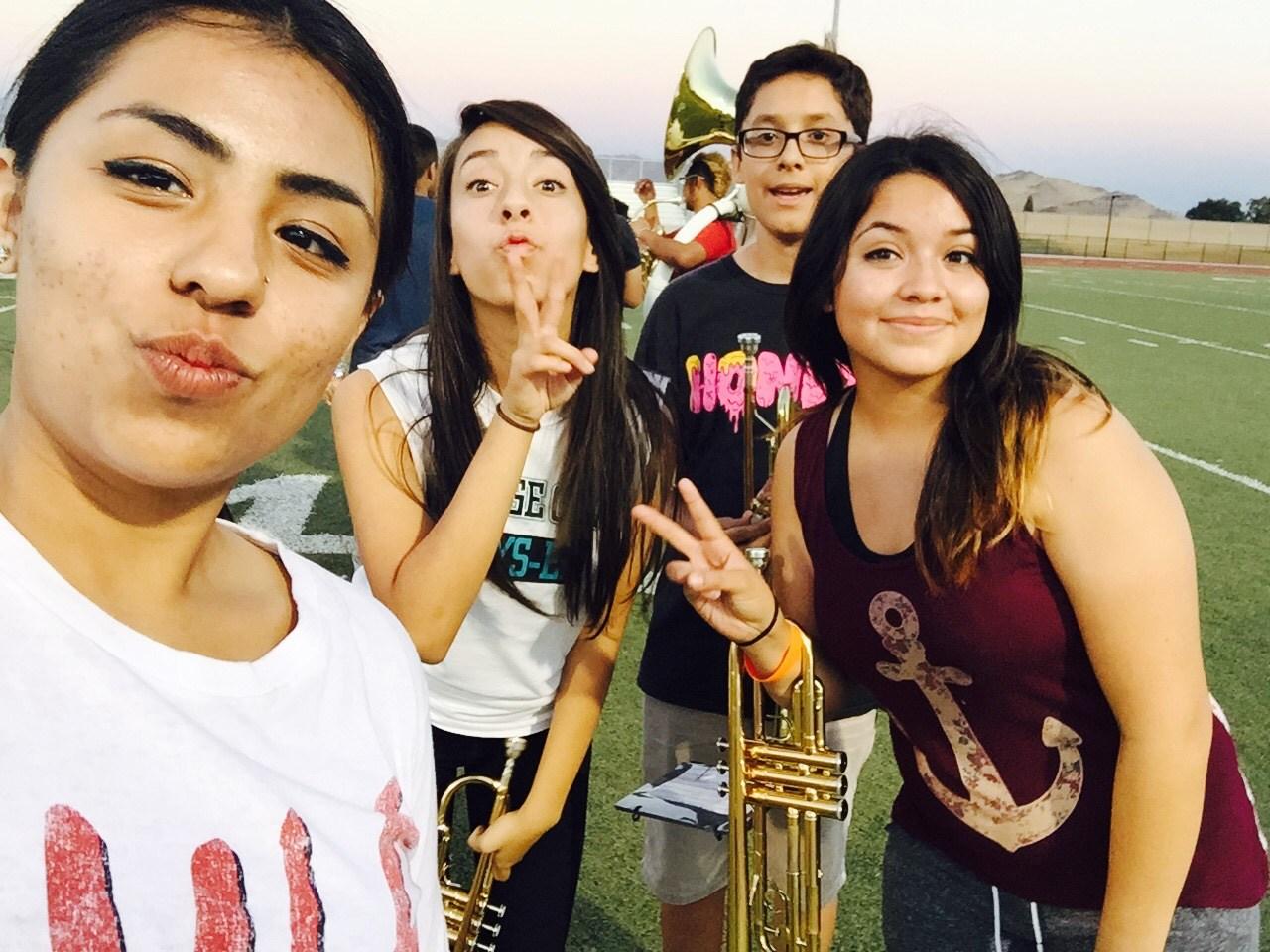 OCHS Band Selfie