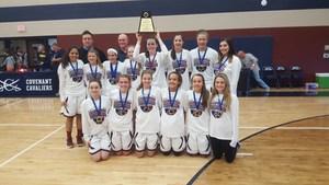 2015-16 Varsity Girls State champs