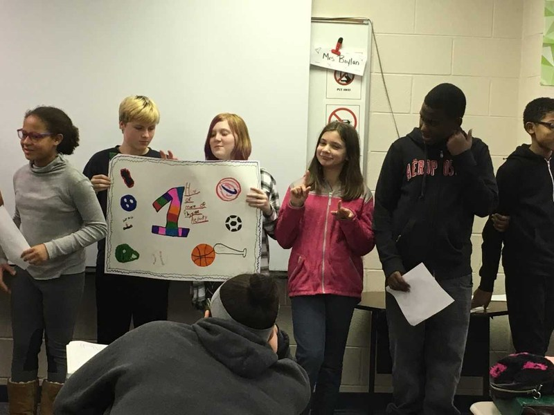 Students Teaching