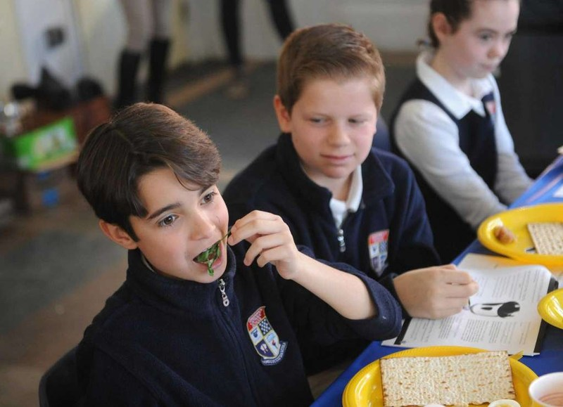 5th Graders at GCS Experience a Passover Seder Thumbnail Image