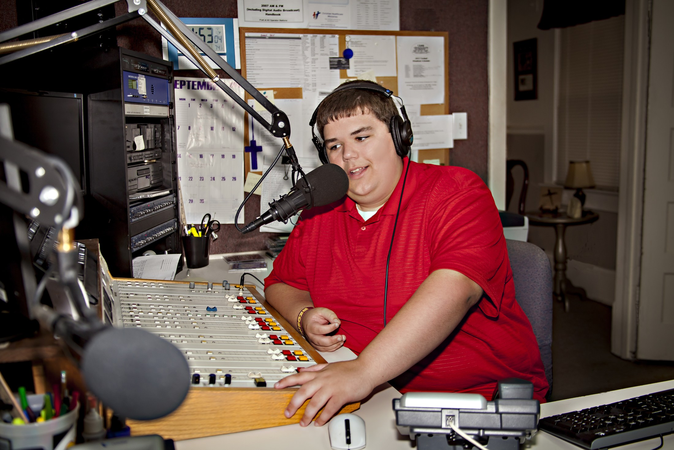 Aikman, WWHS intern @ 3WC Radio