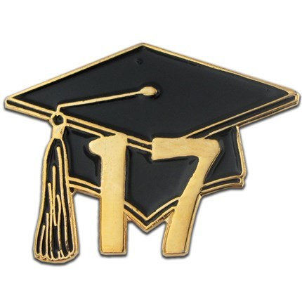 2017 graduation pin