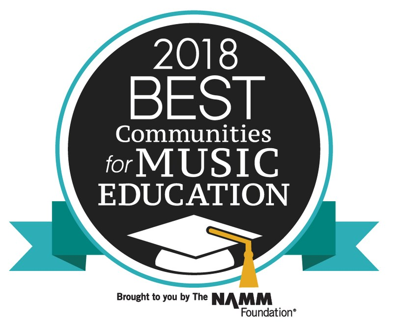 Le Roy CSD Named Best Community for Music Education!