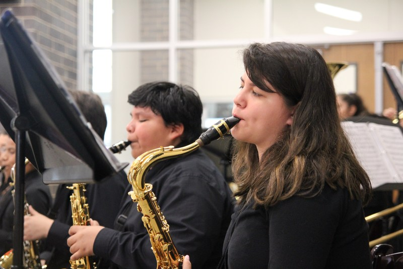 DMS Jazz Band Students Take Top Spots at Region 26 Jazz Band Auditions Thumbnail Image