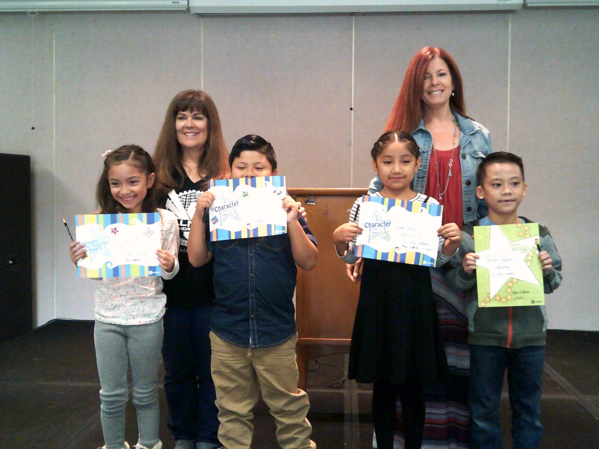 Mrs. Johnson's & Ms. Cordova's November Honorees