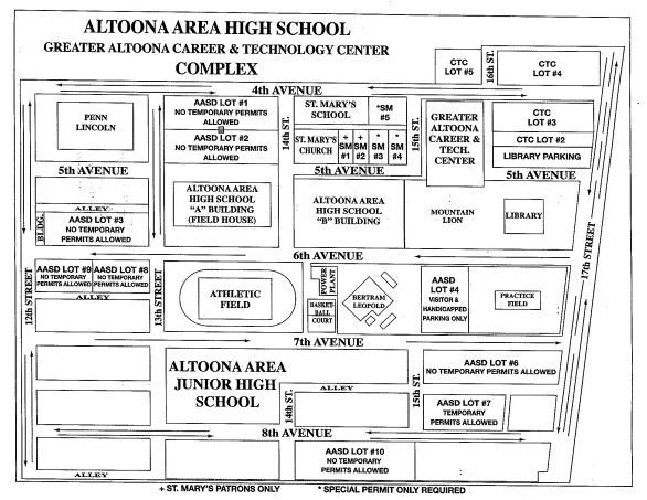 AAHS GACTC Complex Map District Profile Altoona Area School