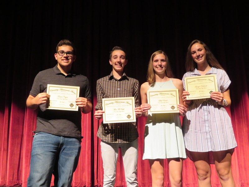 chemistry award winners