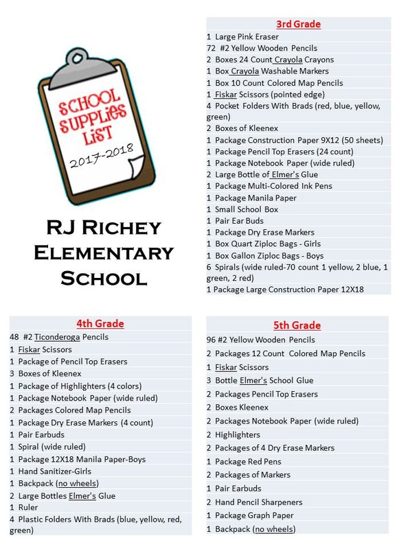 2017-218 School Supply List Thumbnail Image
