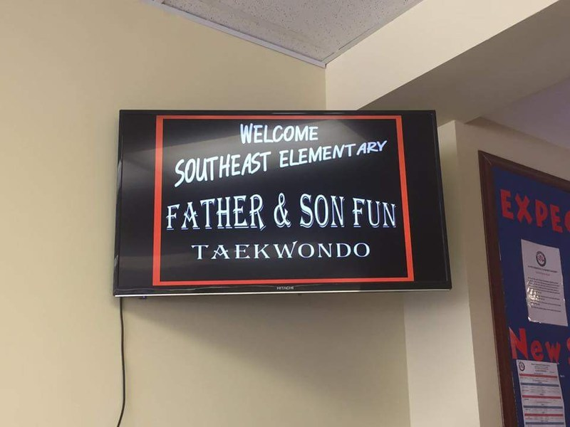 Father Son Taekwondo Day at Woori Academy Thumbnail Image