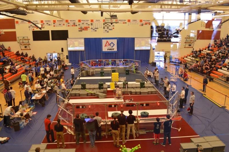 Robotics competition at WVHS 2017