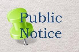 Public Notice Image/icon