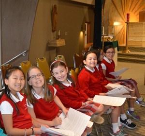 4th gr choir girls at CSW mass.jpg