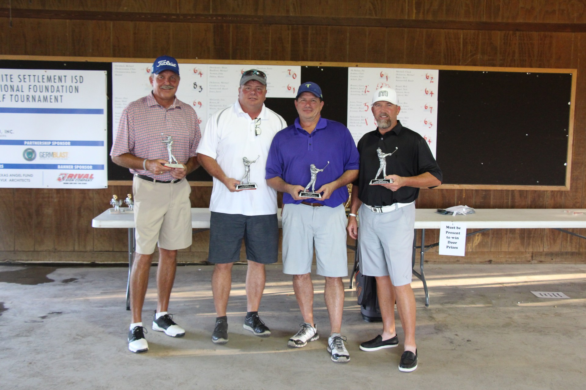 Second place team was Rick Armstrong, Garry Bonner, Sam Feronti and Greg Gabbert.