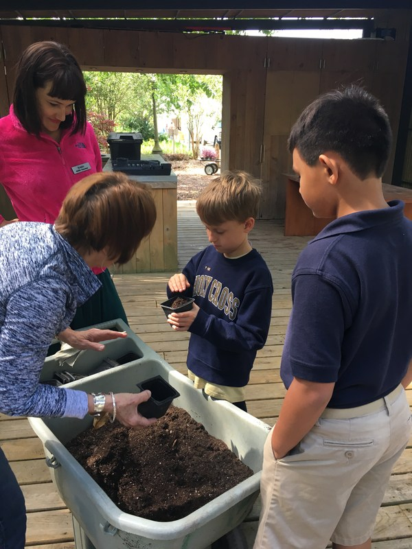 Second Graders Become Gardeners Featured Photo