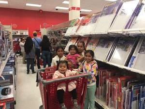 Families Shopping