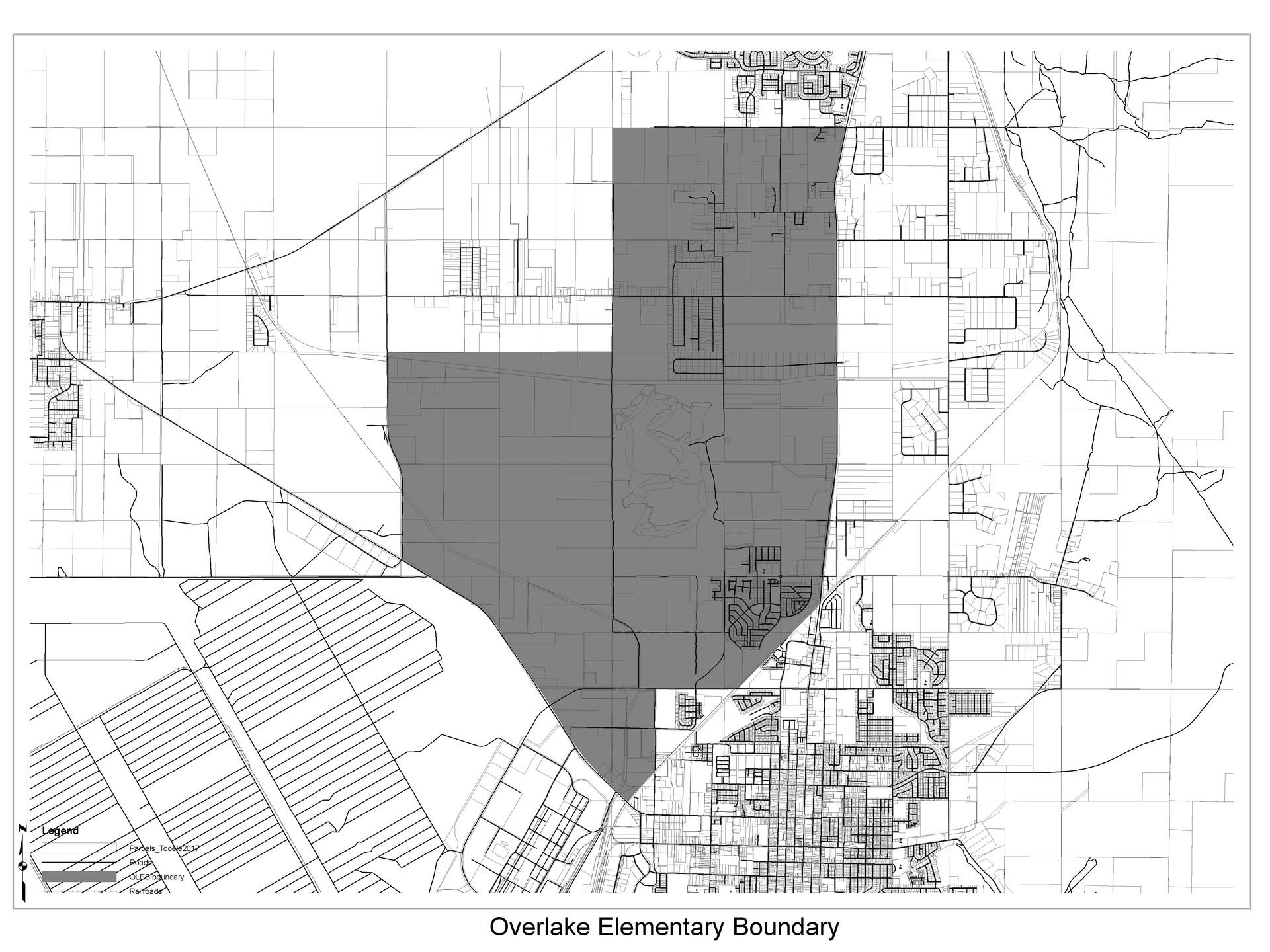 Overlake Elementary School boundary