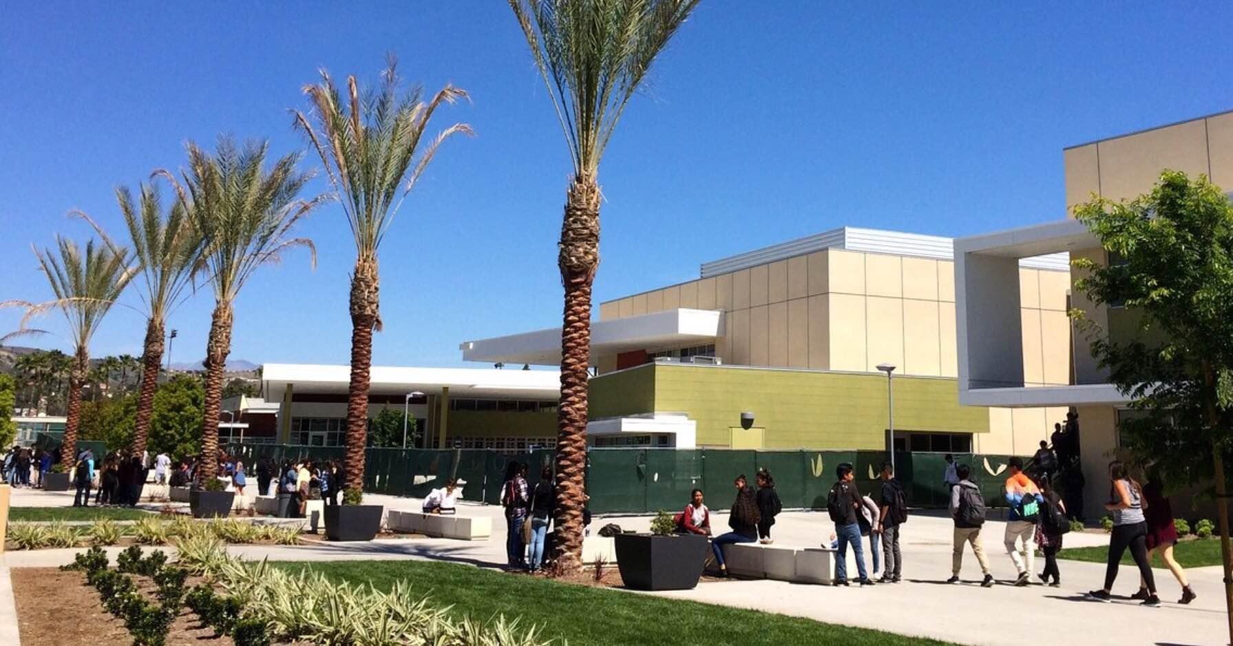 quad shot of campus