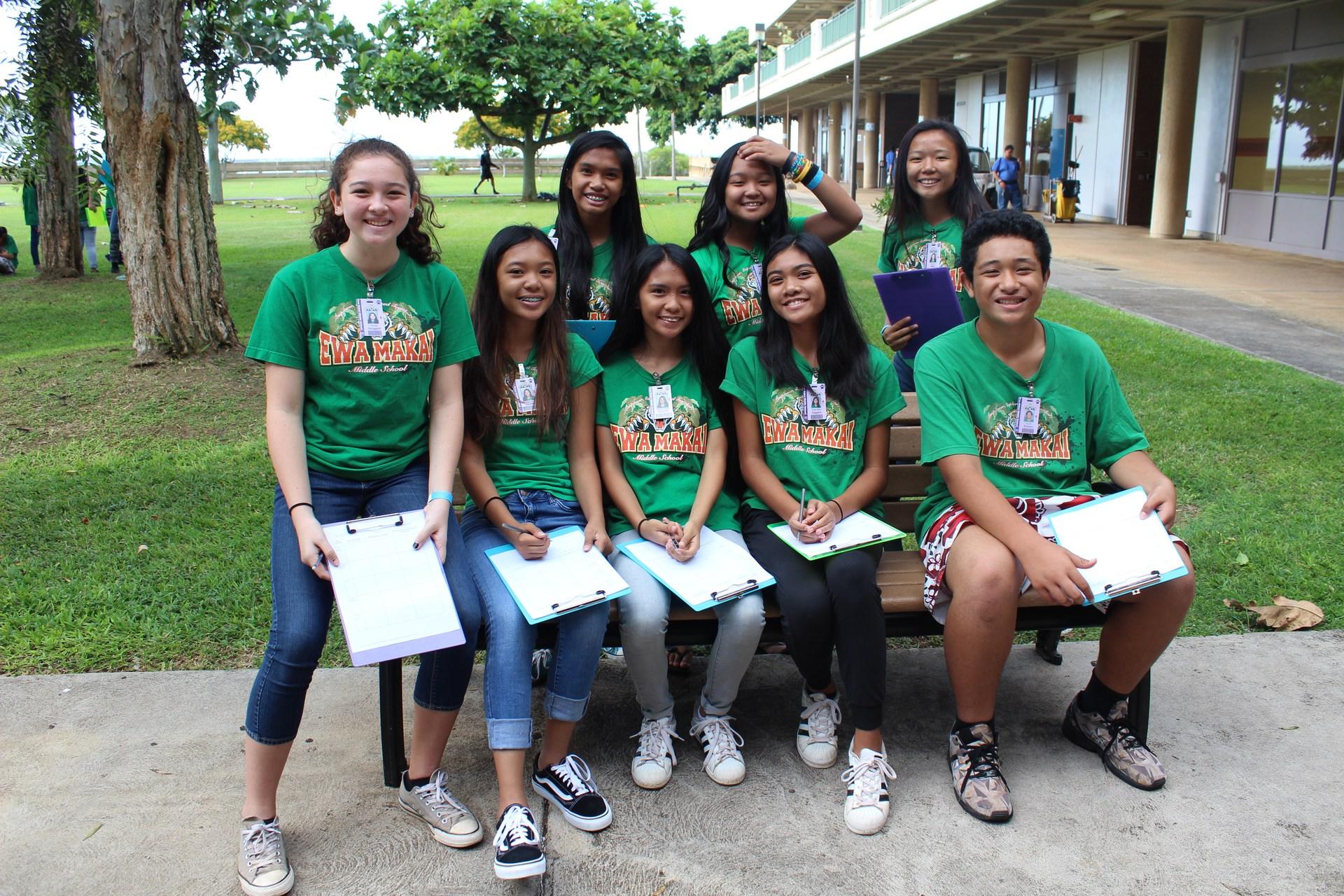 AVID 8th Grade Field Trip to LCC for Job Fair