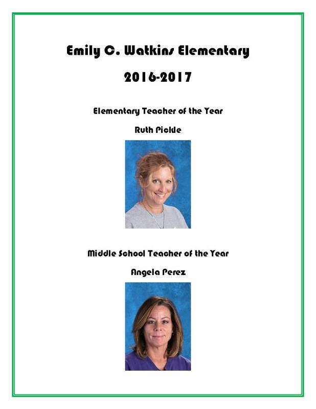 Teachers of the Year Thumbnail Image