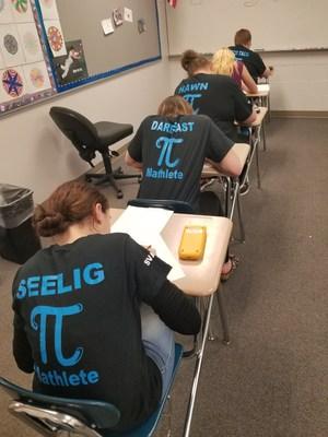 Gananda Mathletes hard at work