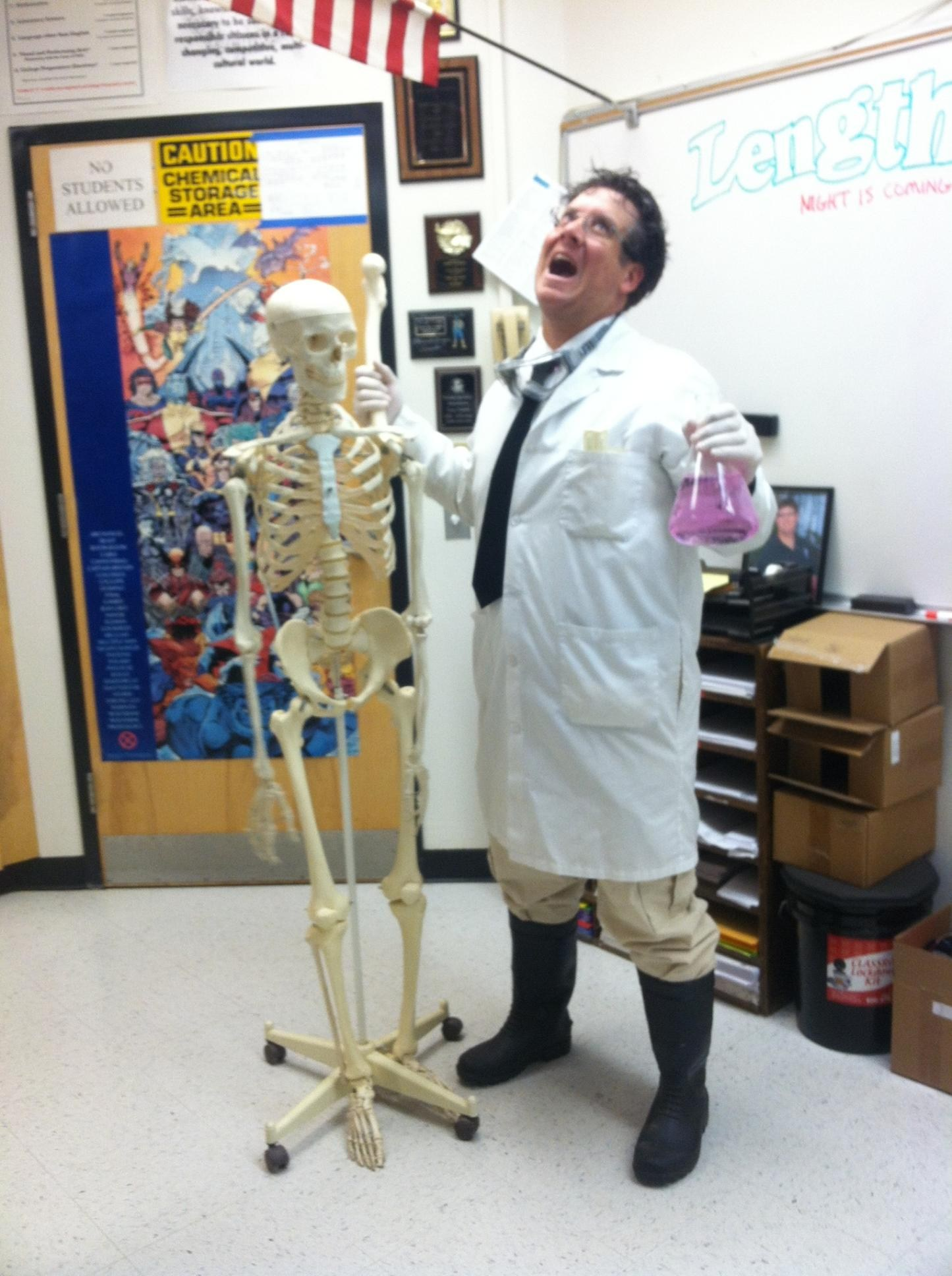 Mr. Valenti having a good day.