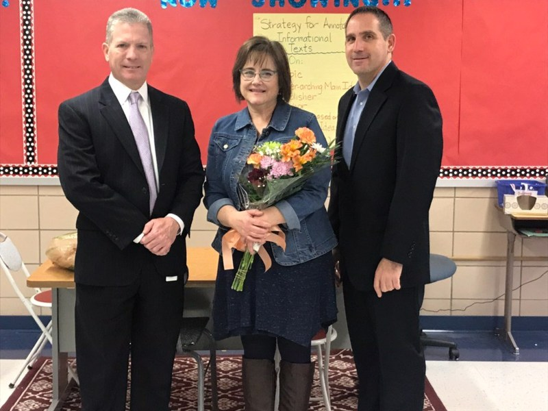 Congratulations to Mrs. Rubins on being named our Governor's Educator of the Year!!! Thumbnail Image