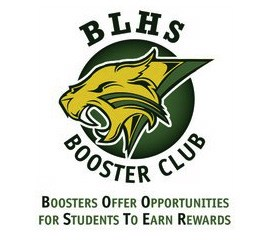 Booster Club logo with Bobcat