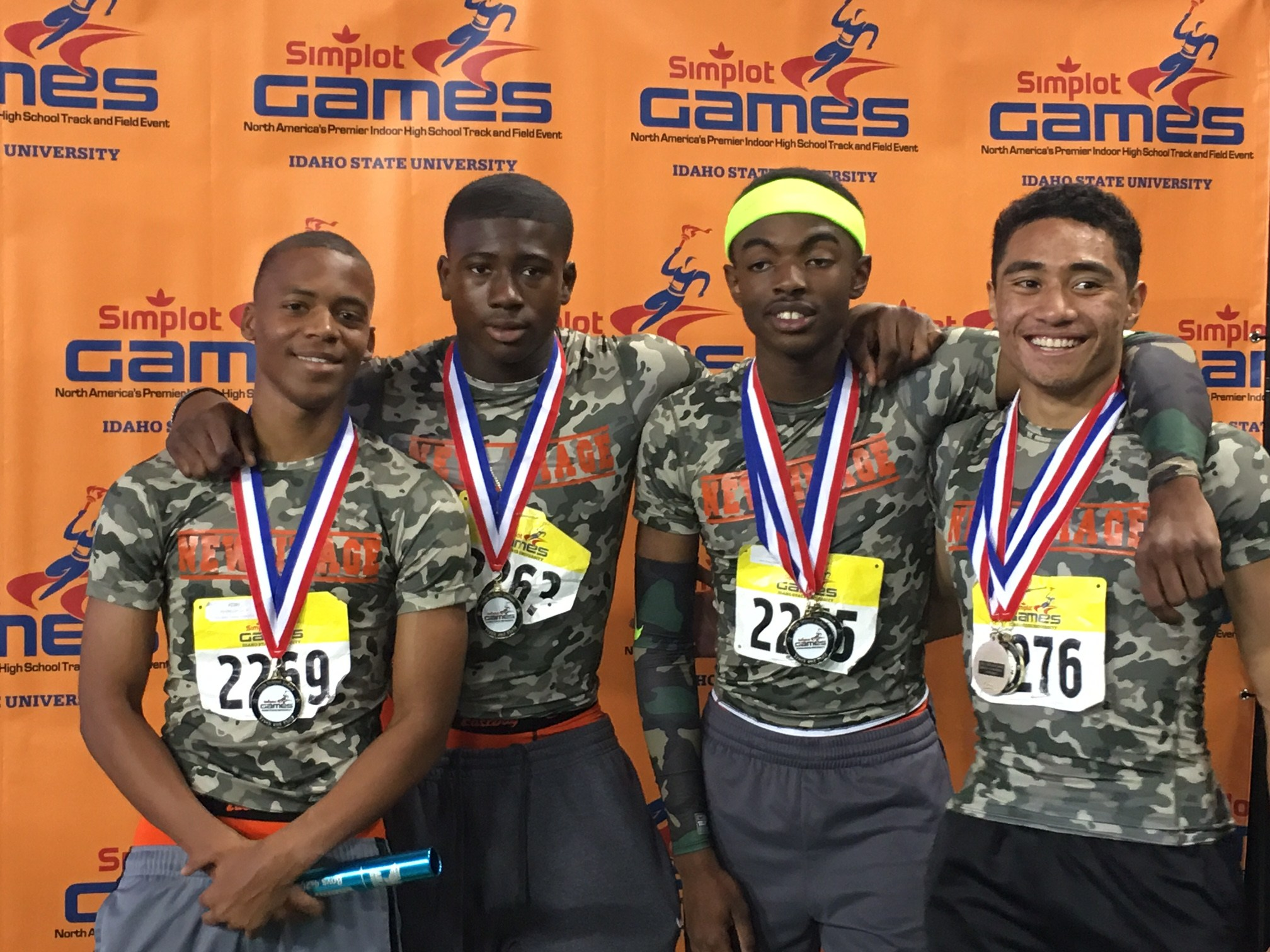 Underclass lineup makes podium at the 39th Simplot Games