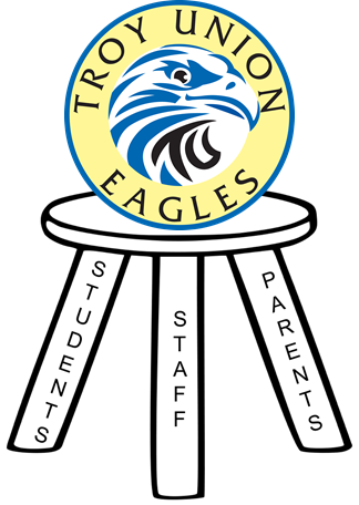 Troy Union Eagles logo