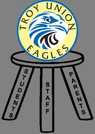 Troy Union Eagles logo