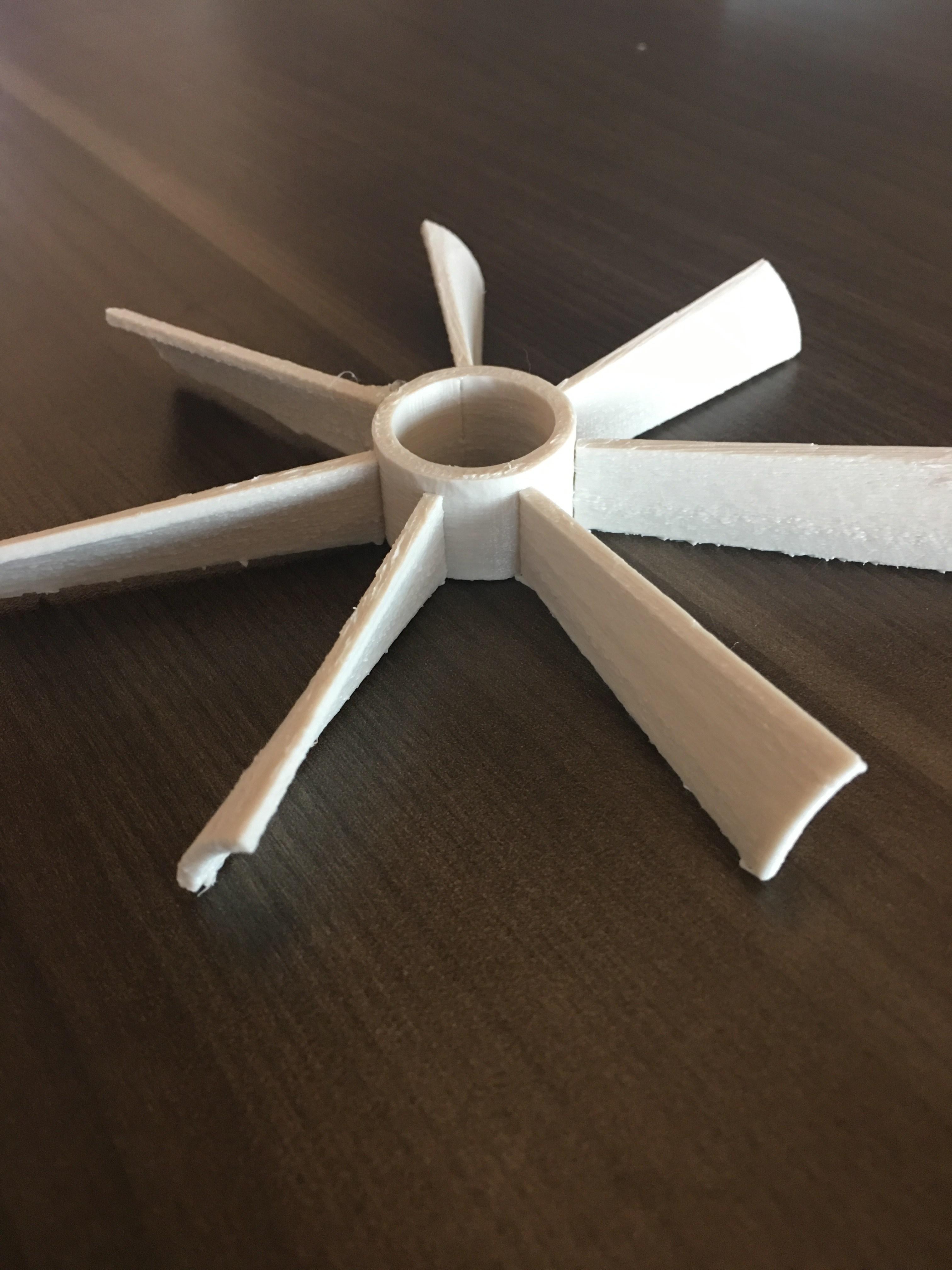 3D Printed Fan