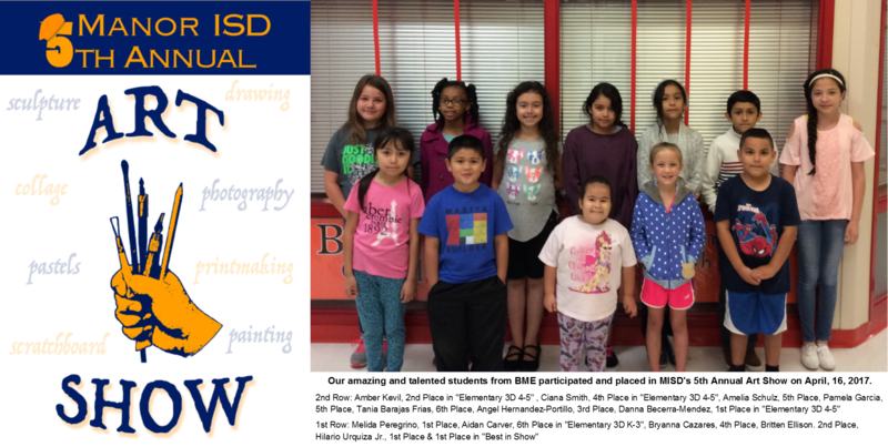 BME Students Participate in MISD's 5th Annual Art Show! Thumbnail Image