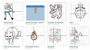 Algebra Students' Work Featured on Desmos Website
