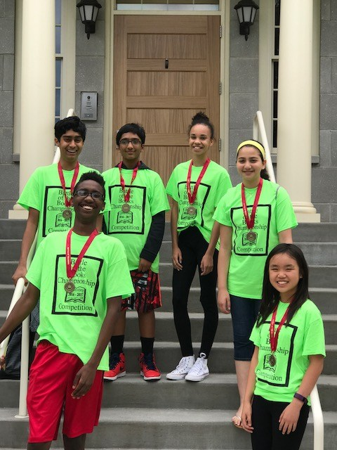 Battle of the Books 2nd Place 2017
