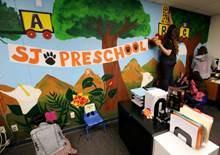 preschool mural