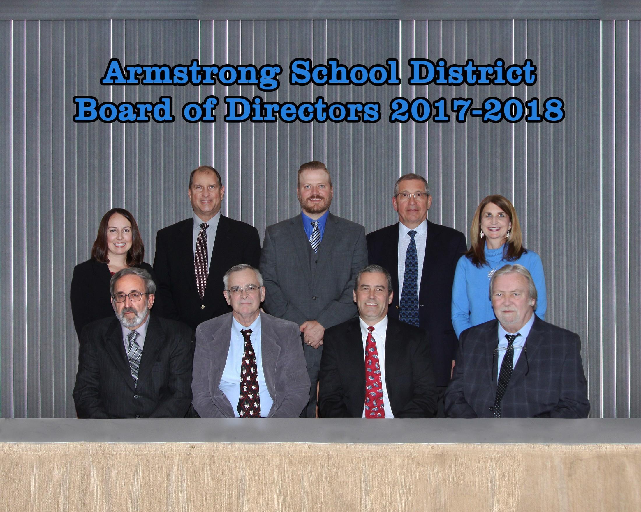 Board of School Directors – School Board – Armstrong School