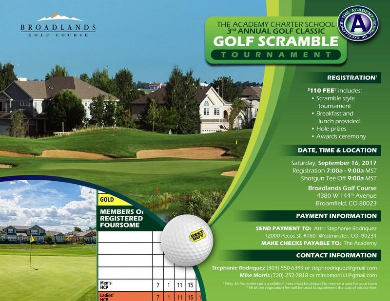 The Academy Golf Scramble Thumbnail Image