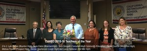 Laura Hallinan C.U.H.S.D. 2015-16 Teacher of the Year picture 1