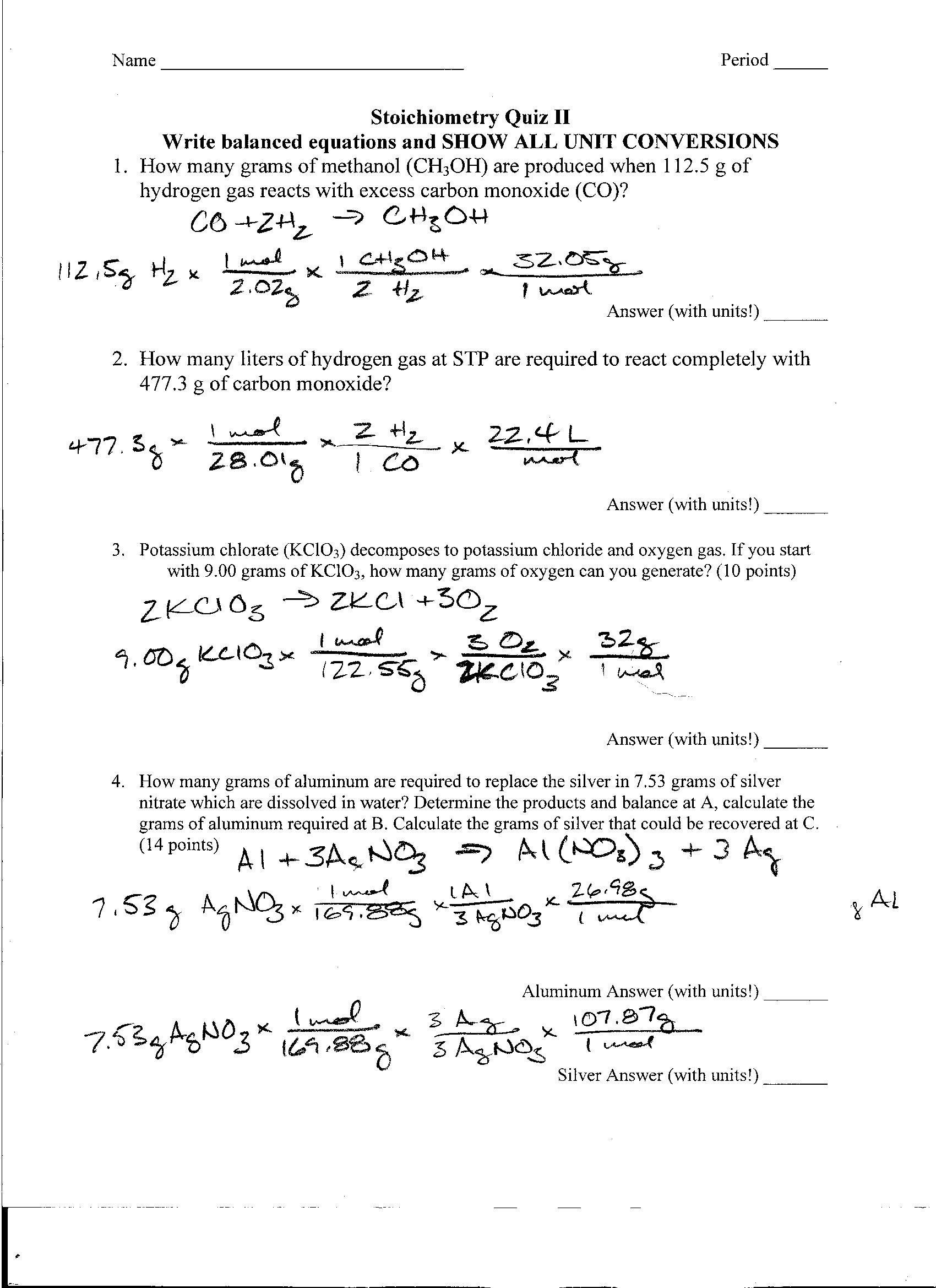 Foothill High School – Cryptic Quiz Worksheet Answers