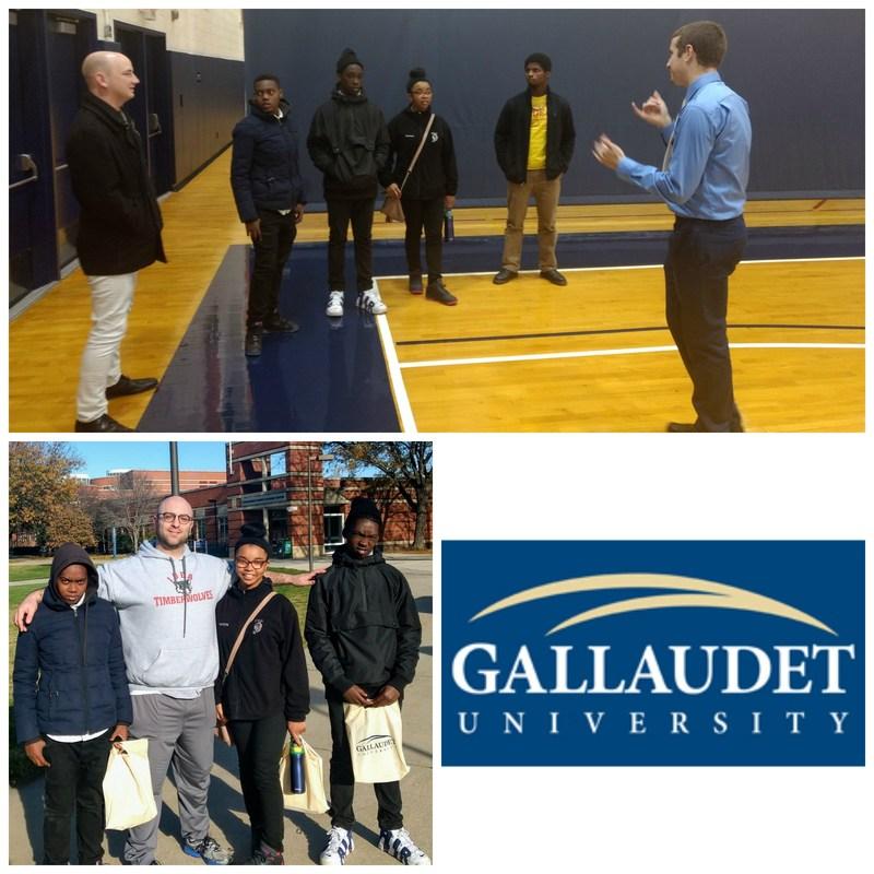 Field Trip to Gallaudet University Inspires ASL Students Thumbnail Image