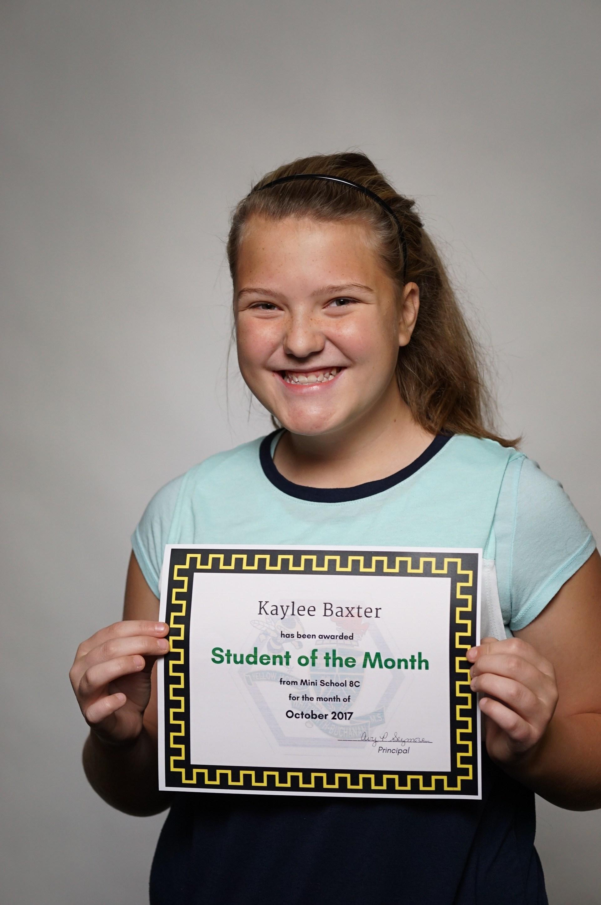 Kaylee Baxter