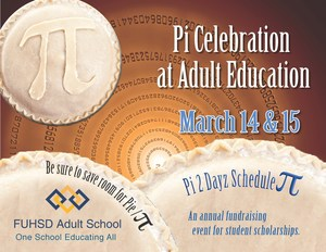 Pi Day Announcement Flyer 2018