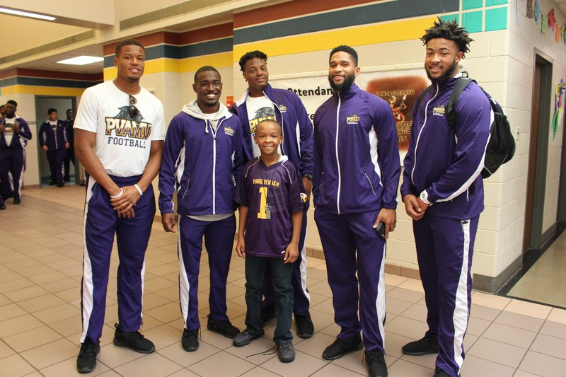 Prairie View Panthers Take A Time-Out for Lancaster ISD Students Thumbnail Image