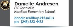 Danielle Andresen email