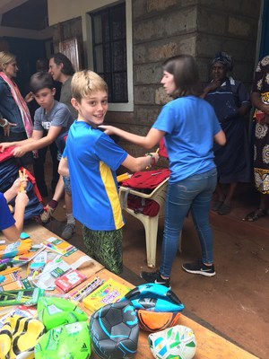 school supplies provided to kenyans