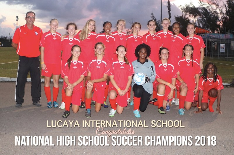 LIS Senior girls - National High School Soccer Champions 2018 Featured Photo