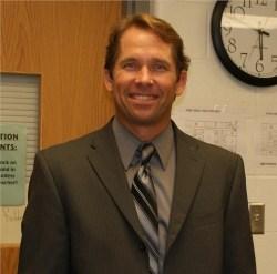 David Maine, new principal at Crossroads Middle - photo
