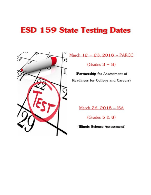 ESD 159 State Testing Dates Featured Photo